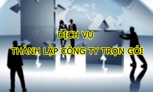 Dịch vụ thành lập công ty trọn gói tại Luật Tiền Phong