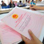 Hồ sơ sang tên sổ đỏ cần nộp những tờ khai gì?