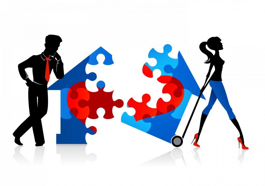Nguyên tắc phân chia tài sản chung khi ly hôn