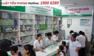 Xin Giấy chứng nhận đạt chuẩn GPP cho nhà thuốc