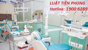 Quy định mới nhất về cấp phép phòng khám răng hàm mặt