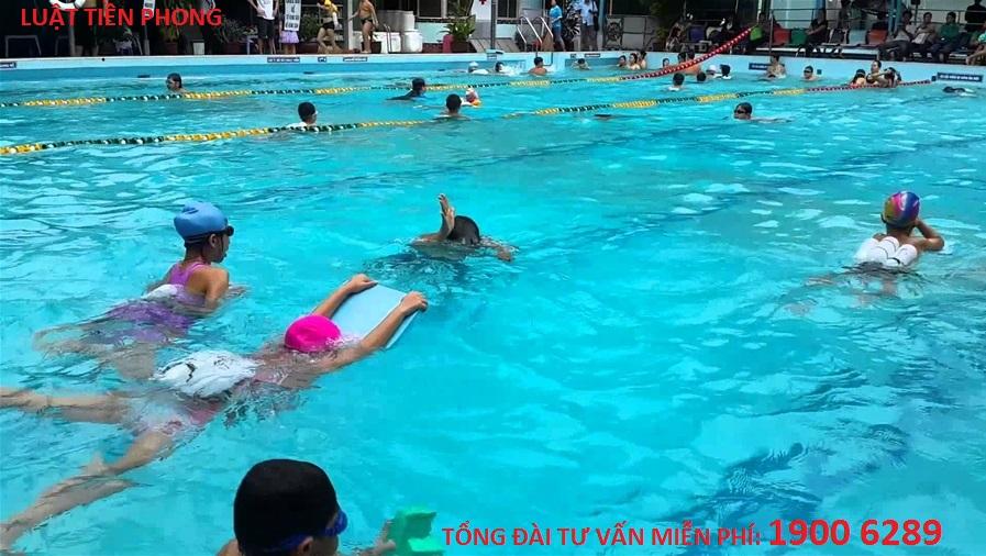 Xin cấp phép hoạt động bể bơi
