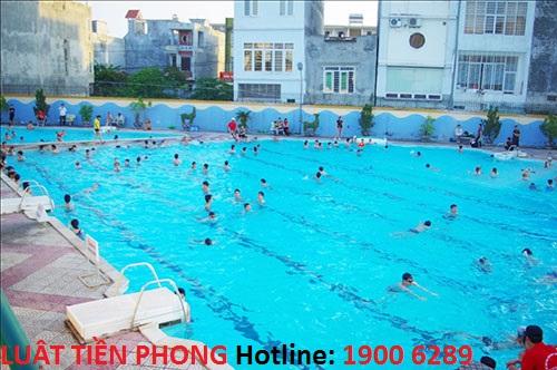 Cơ quan có thẩm quyền cấp giấy phép kinh doanh bể bơi