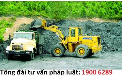 Thủ tục xin cấp giấy phép khai thác khoáng sản