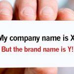 Tên thương mại khác nhãn hiệu như thế nào?