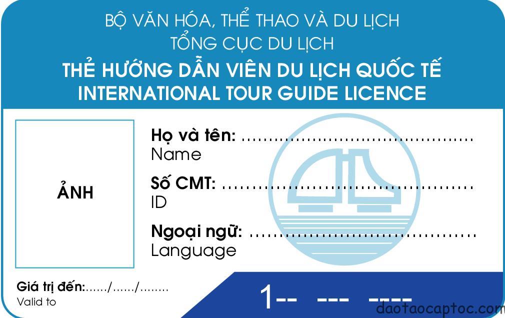 Thủ tục cấp thẻ hướng dẫn viên du lịch quốc tế
