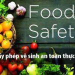 Những lưu ý khi xin giấy phép vệ sinh an toàn thực phẩm