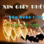 Thủ tục cấp giấy phép kinh doanh bán lẻ rượu