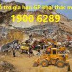 Thủ tục gia hạn giấy phép khai thác khoáng sản
