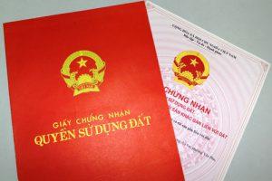 Thủ tục đính chính giấy chứng nhận quyền sử dụng đất