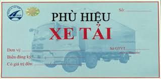 Tư vấn cấp phù hiệu xe vận tải hàng hóa