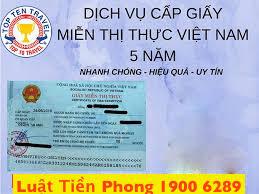 Các trường hợp được miễn thị thực Việt Nam
