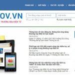 Thủ tục đăng ký website cung cấp dịch vụ thương mại điện tử với Bộ Công Thương