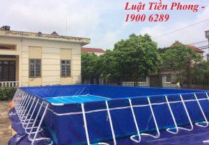 Thủ tục xin giấy phép đối với bể bơi di động