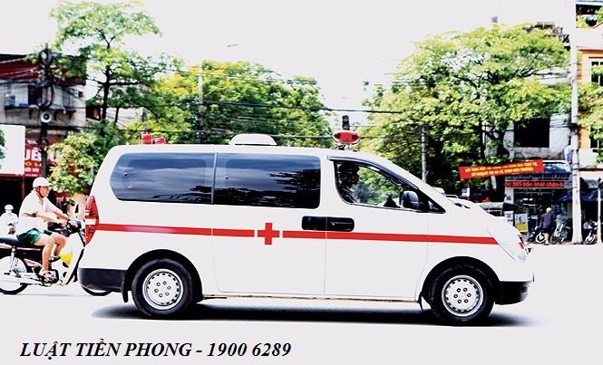 Hướng dẫn xin còi xe cấp cứu, vận chuyển người bệnh