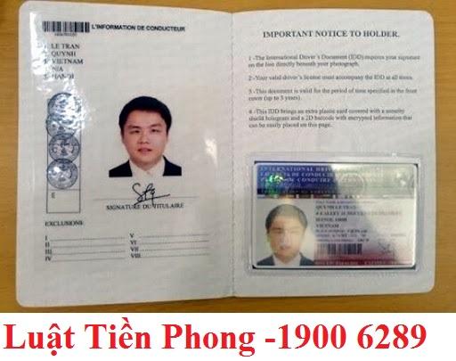 Thủ tục Cấp Giấy phép lái xe quốc tế