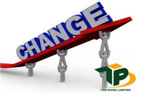 Thay đổi ngành nghề đăng ký kinh doanh