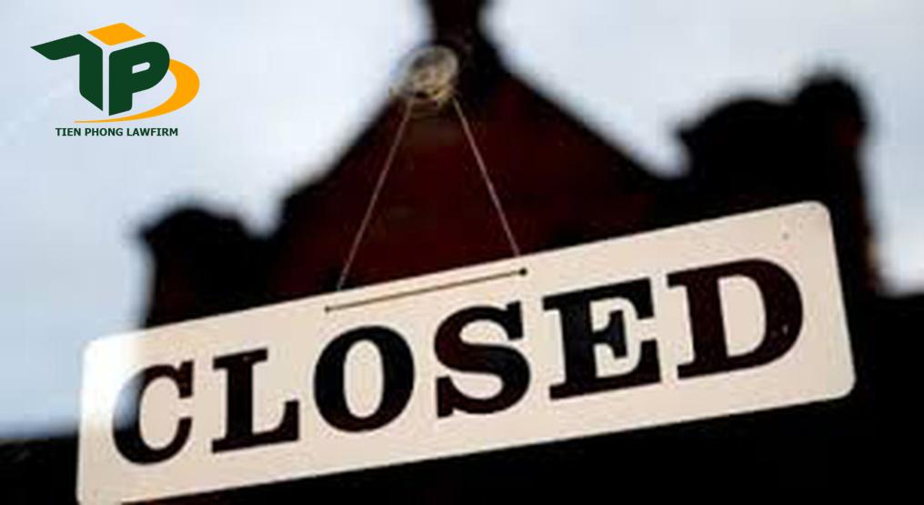 Thủ tục chấm dứt hoạt động của chi nhánh, VPĐD, ĐĐKD của doanh nghiệp