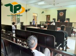 Quy định mới nhất về phiên toà xét xử vụ án tranh chấp đất đai
