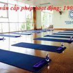 Cấp giấy phép hoạt động cho cơ sở kinh doanh hoạt động yoga
