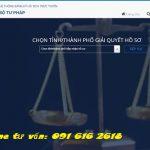 Hướng dẫn về thủ tục đăng ký hộ tịch trực tuyến