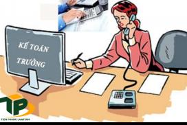Một người có thể làm kế toán trưởng của nhiều công ty không?