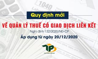 Quy định về kê khai thuế khi có giao dịch liên kết