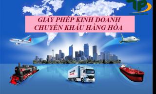 Thủ tục cấp giấy phép kinh doanh chuyển khẩu hàng hóa