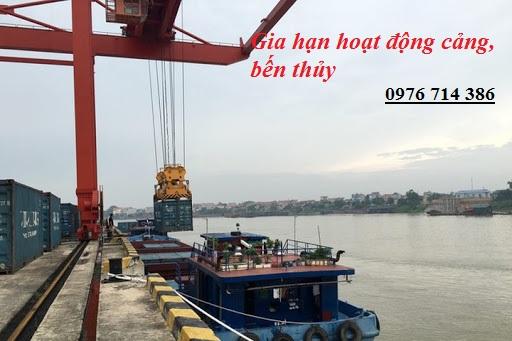 Thủ tục gia hạn hoạt động cảng, bến thủy nội địa