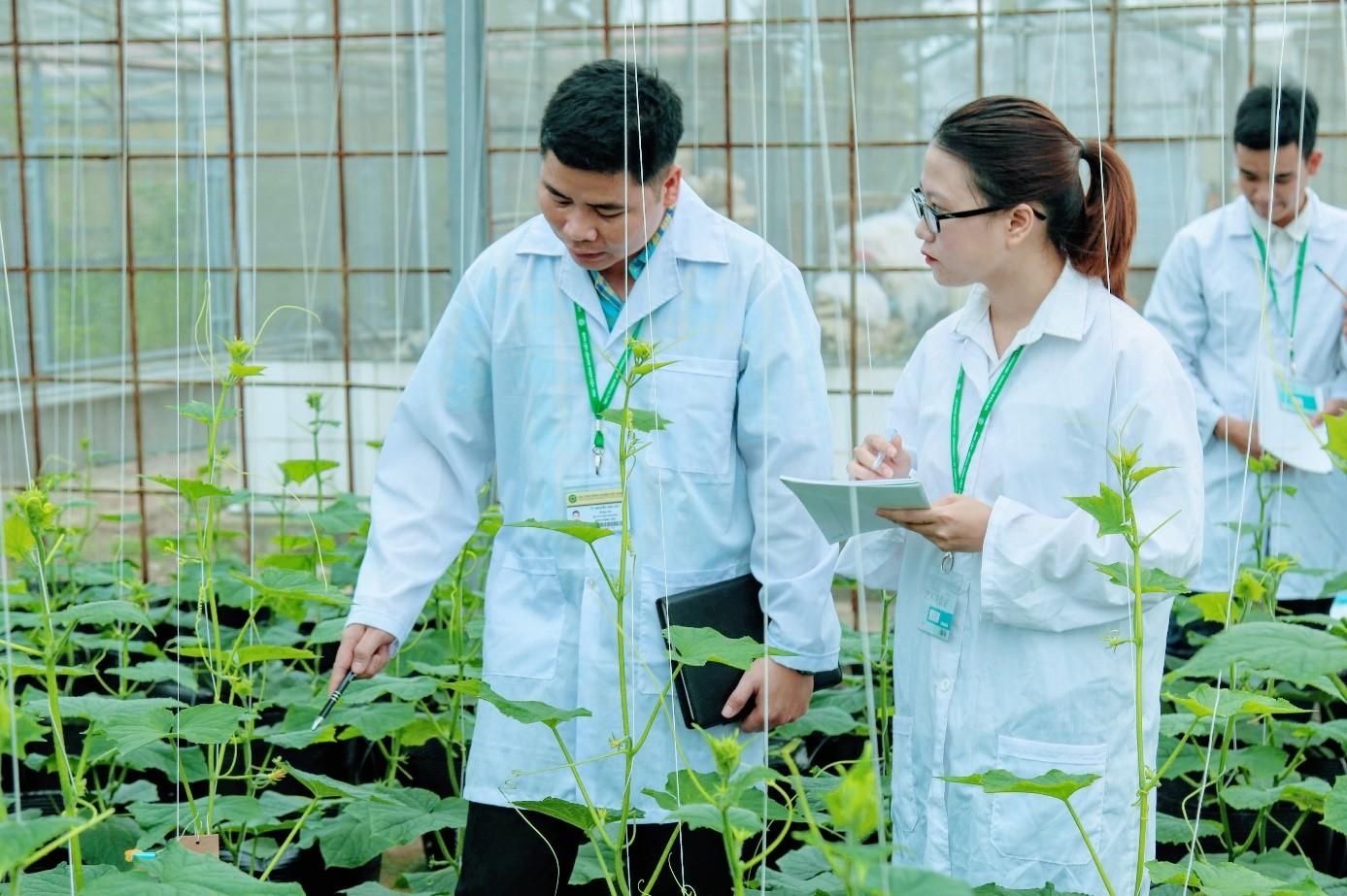 Thành lập Viện nghiên cứu nông nghiệp, giống cây trồng