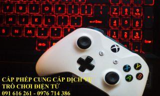 Hướng dẫn xin cấp phép cung cấp dịch vụ trò chơi điện tử G2